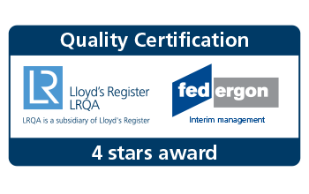 Certificering LRQA Lloyd's (interim management)